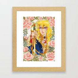 Versailles No Bara Framed Art Print