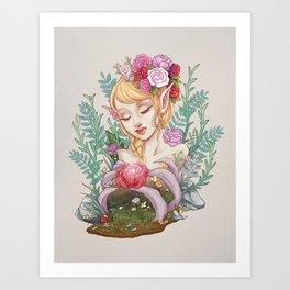 Bone Garden Art Print