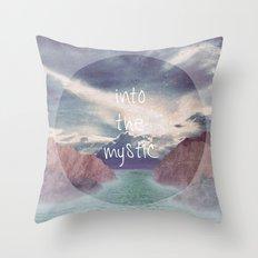 Into the Mystic (ANALOG zine) Throw Pillow