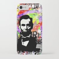 lincoln iPhone & iPod Cases featuring Lincoln by Zoé Rikardo