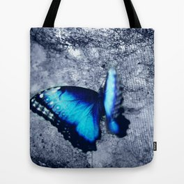 Blue Picture Perfect Tote Bag