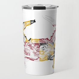 Maryland Crab Travel Mug