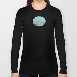 Life (Aqua and Burnt Rose) Long Sleeve T-shirt