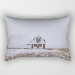 Abandoned Cabin Rectangular Pillow