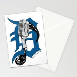 Detroit Music Stationery Cards