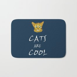 Cats are Cool Bath Mat