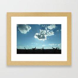 Memories of Battle Framed Art Print