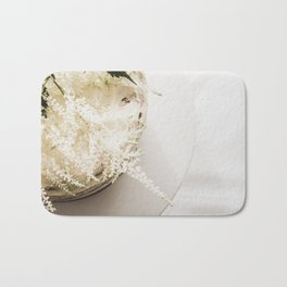 White Naked Cake Bath Mat