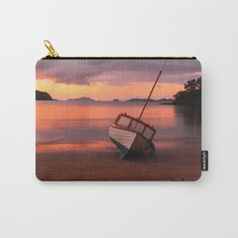 Beached yacht Carry-All Pouch