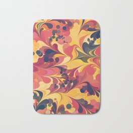 Flowers in the Wind 1 Bath Mat