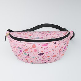 Terrazzo pink and purple Fanny Pack
