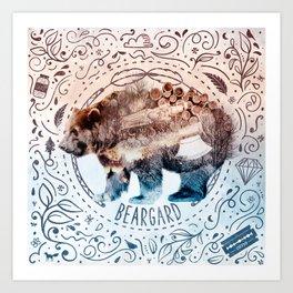 Beargard (Terra Indigene) Art Print