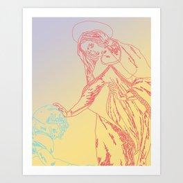 The Catechismic Curve Art Print