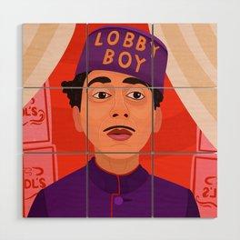 Lobby Boy Wood Wall Art