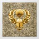Gold Egyptian Scarab by chrismacdonaldstudios