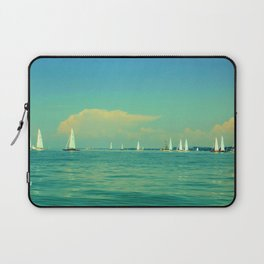 Sailing on Lake Constance Laptop Sleeve