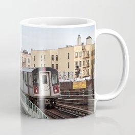 Incoming 2 Train Coffee Mug