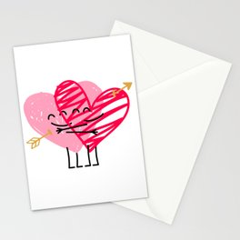 Love & Friendship Stationery Cards