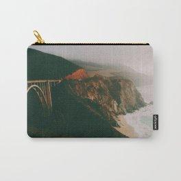 Bixby Creek Bridge, Big Sur, California Carry-All Pouch