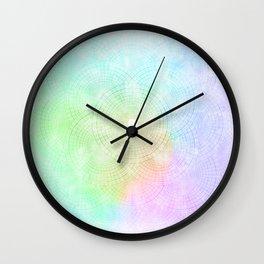 A Splash of Pastel Wall Clock