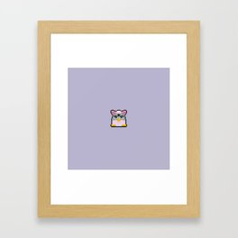 Furby Framed Art Print