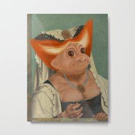 The Ugly Dutchess Metal Print