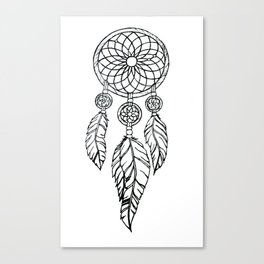 Imane's Dreamcatcher Canvas Print