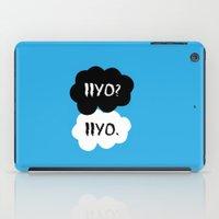 dmmd iPad Cases featuring Iiyo  by Johanna Stark