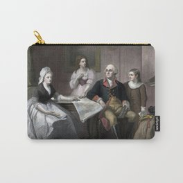 George Washington And His Family Carry-All Pouch