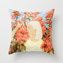 Summer Soul Throw Pillow