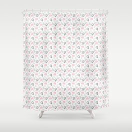 Pussy Hat Pattern Shower Curtain