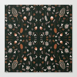 Autumn feeling pattern Canvas Print