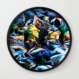 King's Pond Wall Clock