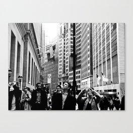 NEW YORK//TOURISTS Canvas Print
