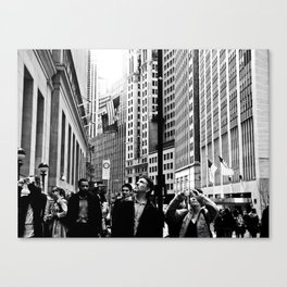 NEW YORK//TOURISTS Canvas Print