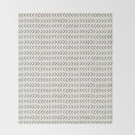 Arrows on Alabaster Throw Blanket