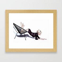 I Am Trouble Framed Art Print
