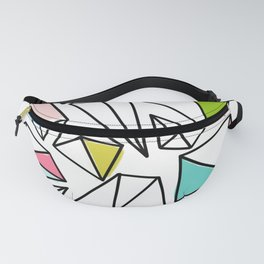 Shine Bright | Colorful Geo Gems Fanny Pack