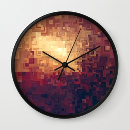 Quads Wall Clock