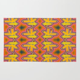 1508 Pattern by curious forms Rug