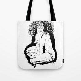 Woman Fatale Tote Bag