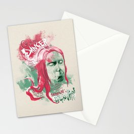 "Iggy Pop ""Gimme Danger"" - The Punk Loons. Stationery Cards"