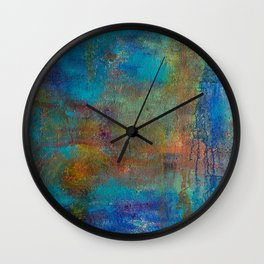 World Chaos Wall Clock