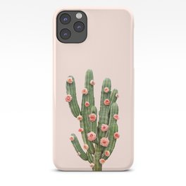 CACTUS AND ROSES iPhone Case