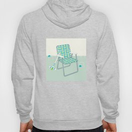 Retro Summer Lawn Chair and Croquet Hoody