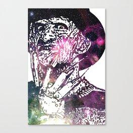 Galaxy Robert Englund Freddy Krueger Canvas Print