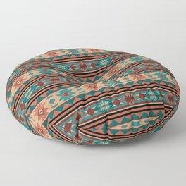 Southwest Design Turquoise Terracotta Floor Pillow
