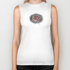 The rose beneith my feet Biker Tank