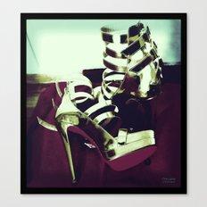 Shoes - Louboutin III Canvas Print