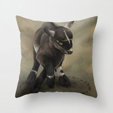 The Devil's Playthings Throw Pillow